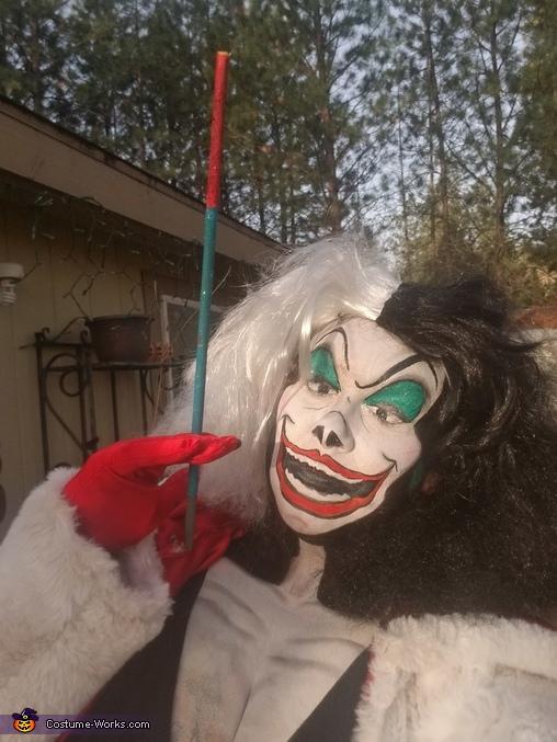 Good day for some bad ideas, Cruella Deville Costume
