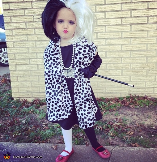 Toddler Cruella Deville Costume