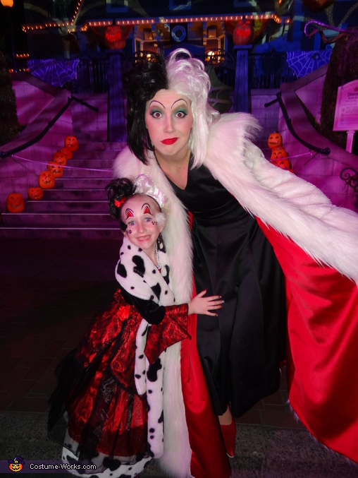 The mini Cruella!, Cruella Deville Costume