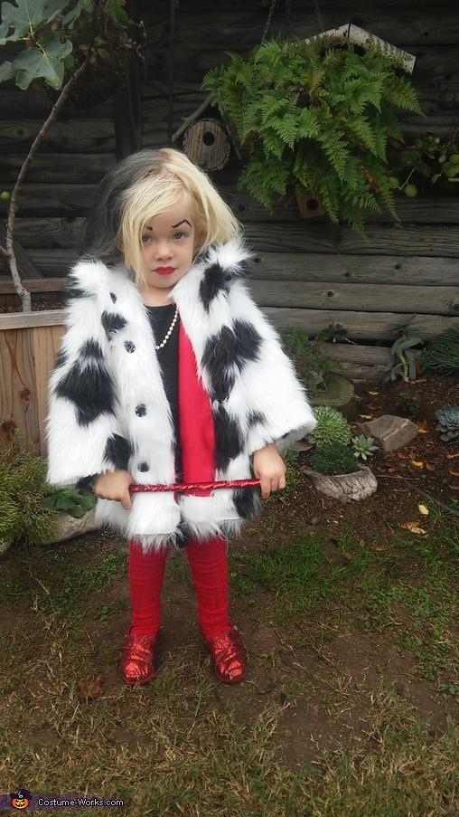 DIY Cruella Deville Costume