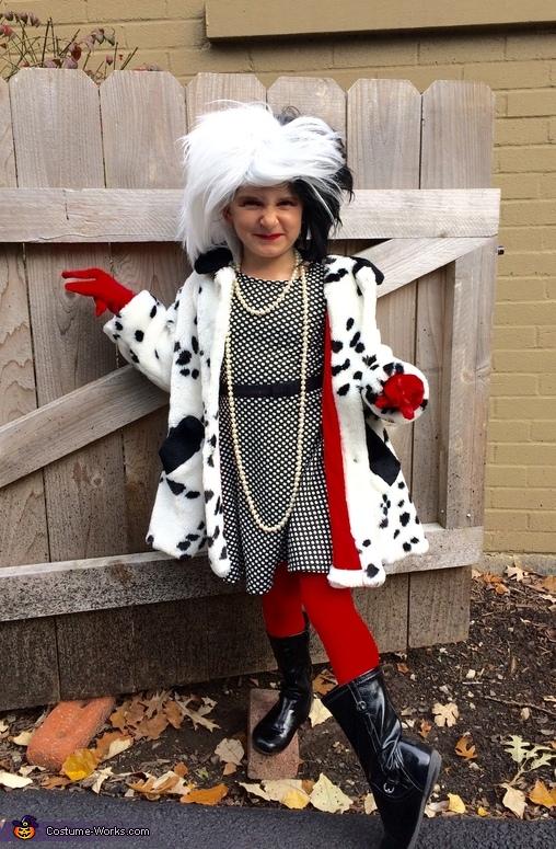 Cruella DeVille DIY Costume