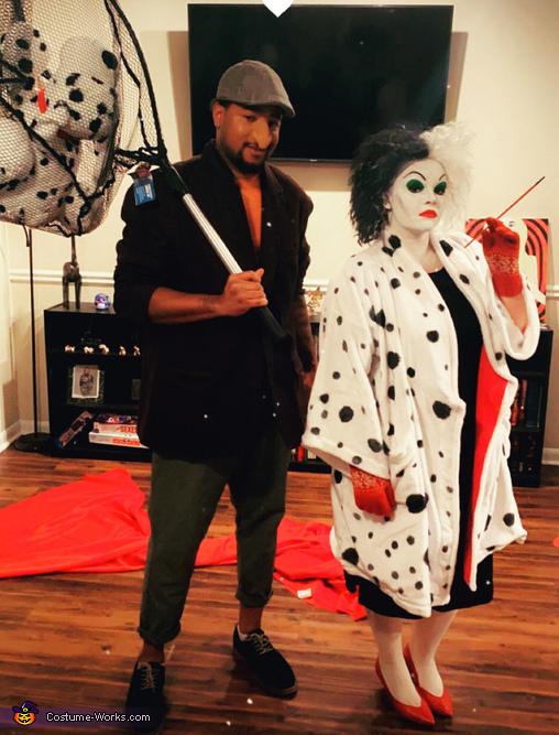 Cruella Deville and the Dog Napper Costume