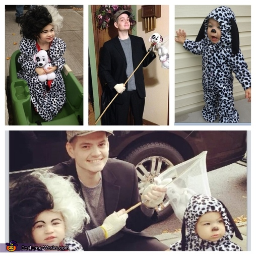 The Gang, Cruella DeVille n her Captured Puppy Costume