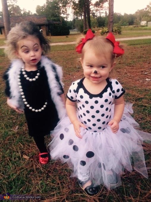 Cruella & Dalmatian Costume
