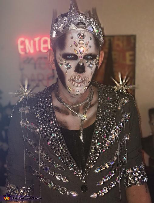 Crystal Skeleton King Costume
