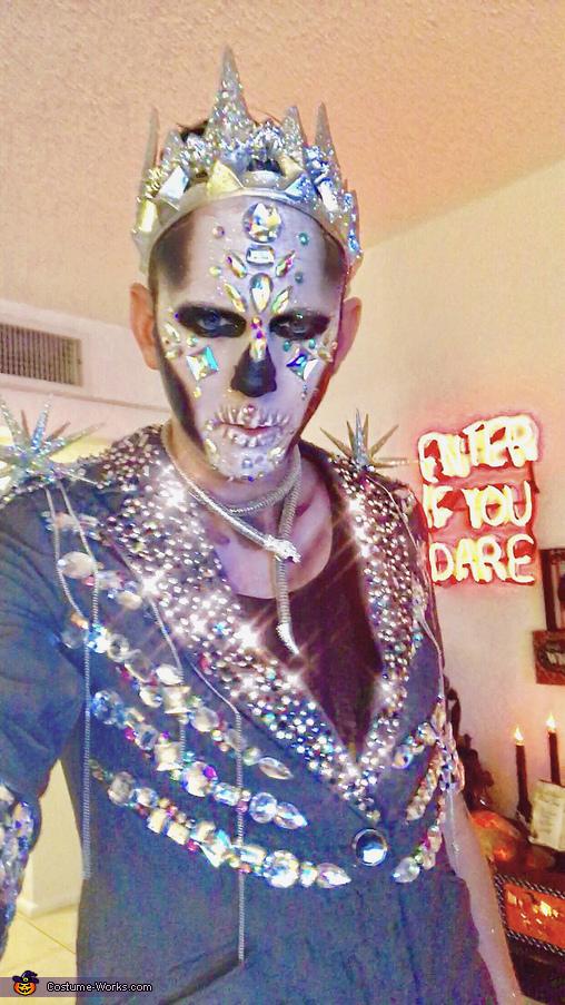 Crystal Skeleton King Homemade Costume