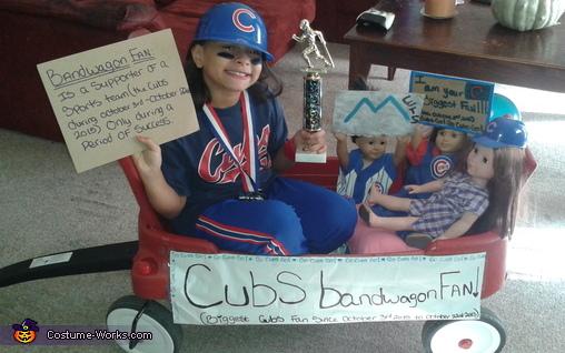 Cubs Bandwagon Fan Costume