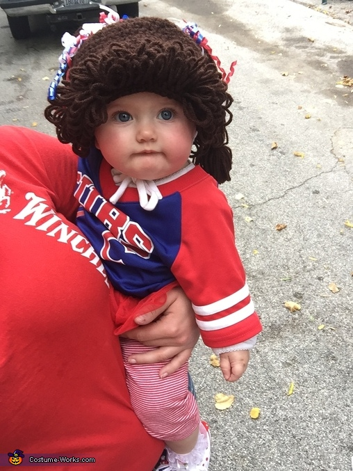 Cubs Cabbage Patch Doll Homemade Costume