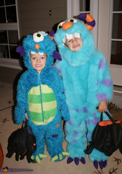 Cuddle Monsters - Homemade costumes for kids