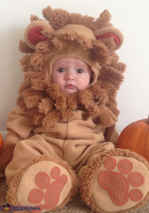 Snuggly lion, Cuddly Lion Baby Costume