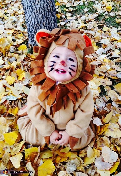 Cuddly Lion Cub Baby Costume
