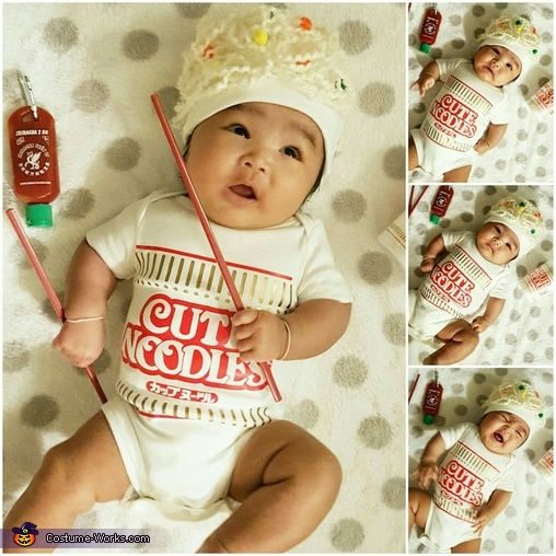 Cup O Noodles Homemade Costume