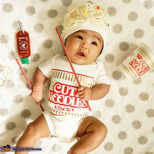 Cup O Noodles Costume
