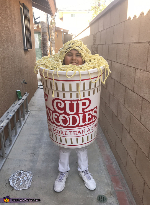 Cup of Noodles Costume