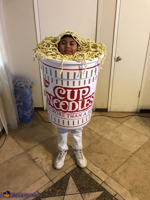 Cup of Noodles Homemade Costume