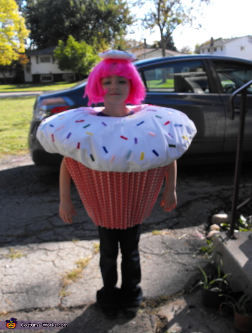 Cupcake Costume  sc 1 st  Costume Works : cupcake costume homemade  - Germanpascual.Com