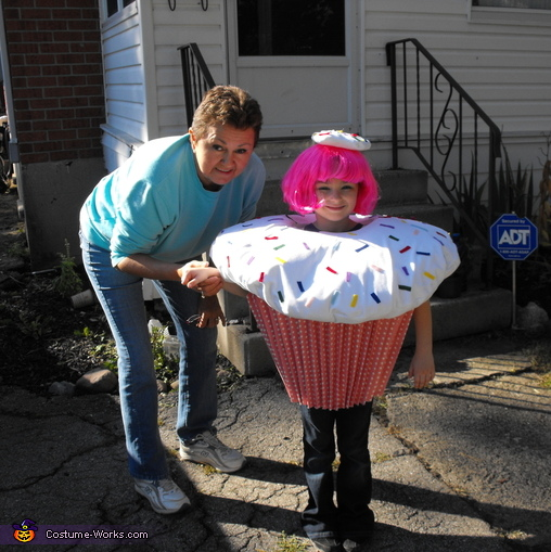 Cupcake Homemade Costume