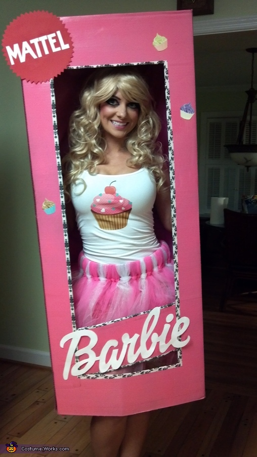 Cupcake Barbie in a Box Costume