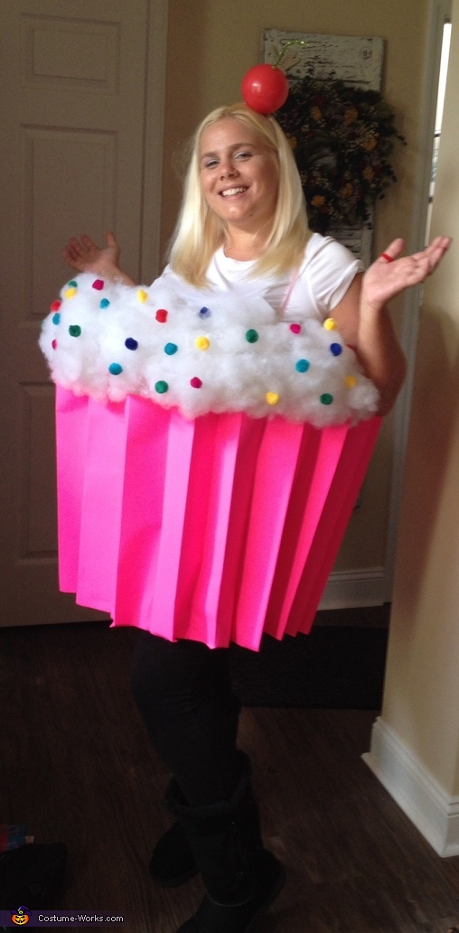 What can I say? I made this myself, Cupcake Cutie Costume