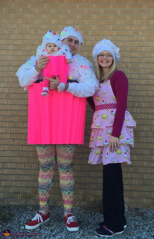 Cupcakes and Baker Family Costume