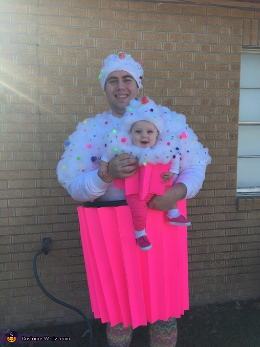 Daddy and Baby Cupcakes, Cupcakes and Baker Family Costume