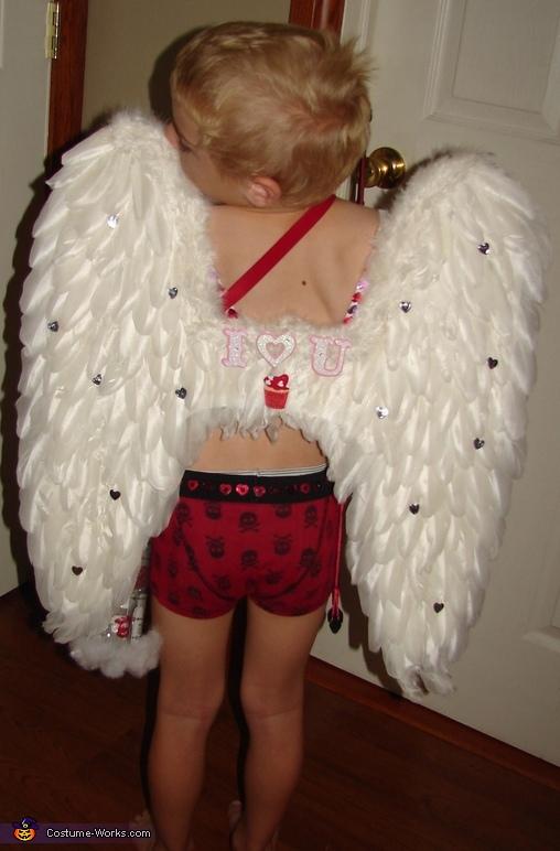Homemade Cupid Costume - Photo 7/10