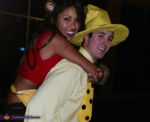 Curious George and The Man in the Yellow Hat Couple Costume  sc 1 st  Costume Works & Curious George and The Man in the Yellow Hat Couples Halloween ...