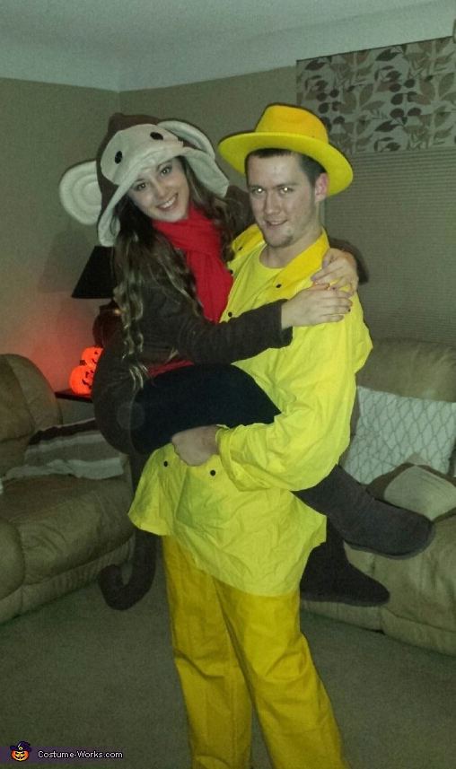 sc 1 st  Costume Works & Curious George Couples Costume