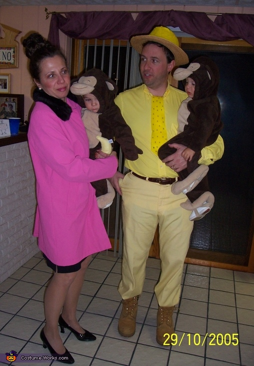 Curious George & Friends, Target Employee & Bullseye Target Mascot Costume