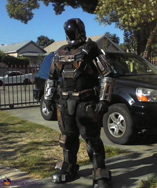 Custom Halo Spartan Armor Costume
