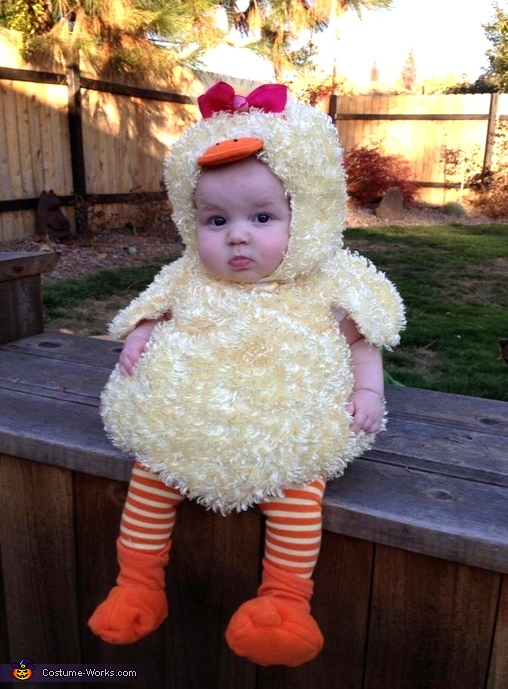 Baby Duck - Homemade costumes for babies