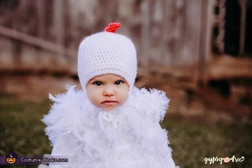 Cute Baby Chicken Homemade Costume