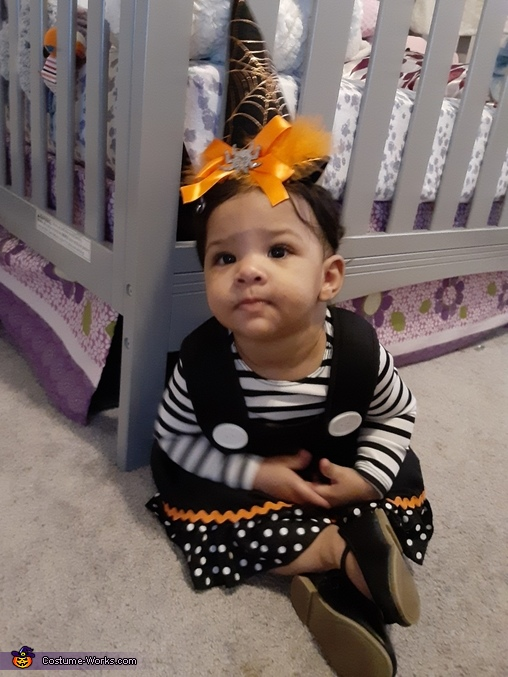 Cute Baby Witch Costume