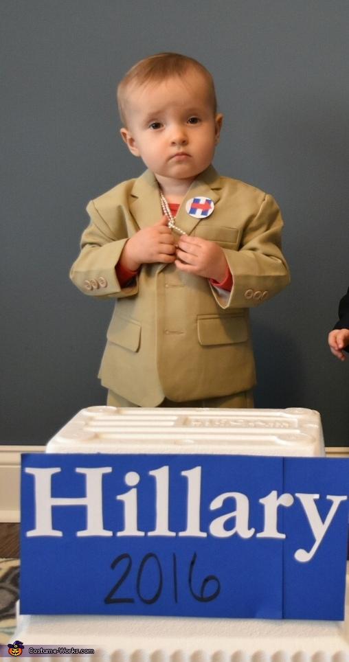 Hillary, Cute Candidates Costume