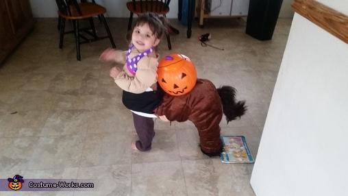 Cute Centaur Homemade Costume