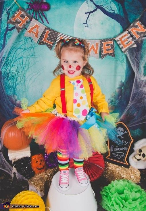 Cute Clown Costume