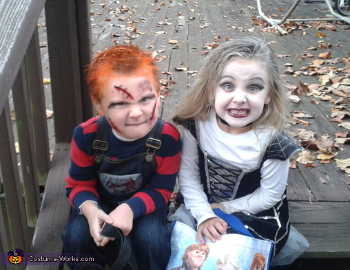 Chucky and the Bride of Chucky Kids Costume