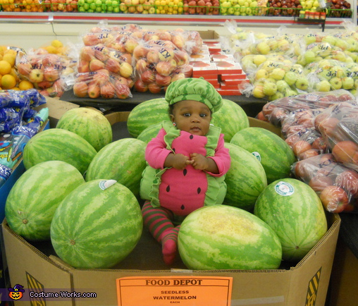 Cute Little Watermelon Costume