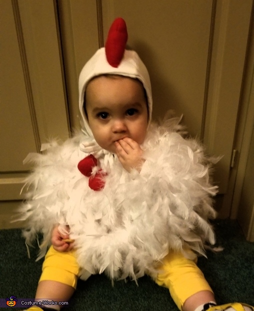 Cute Little Chicken Costume