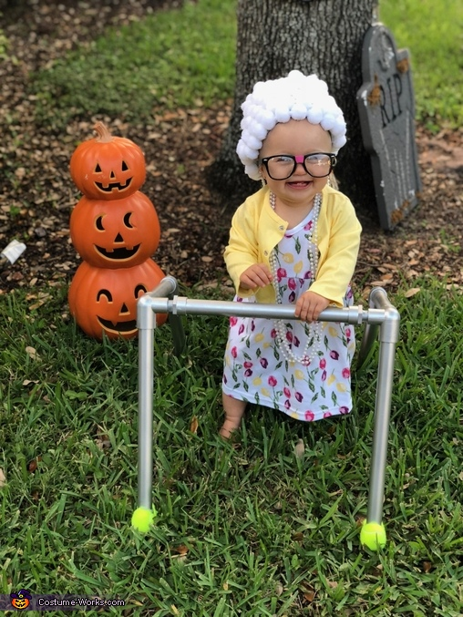 Cute Little Old Lady Costume