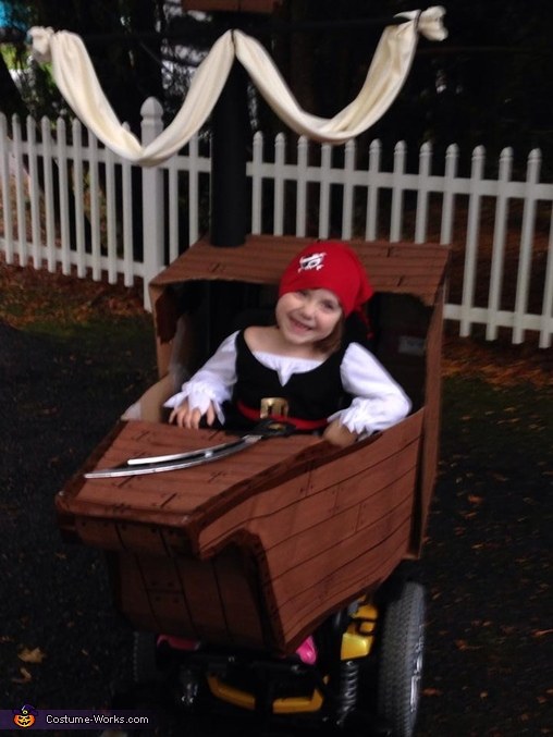 Cute Little Pirate Costume