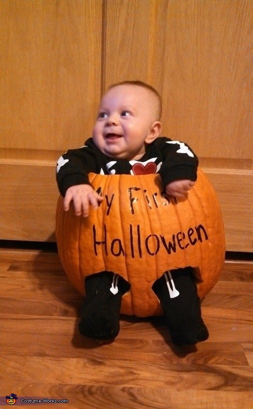 Cutie!, Cute Little Pumpkin Baby Costume