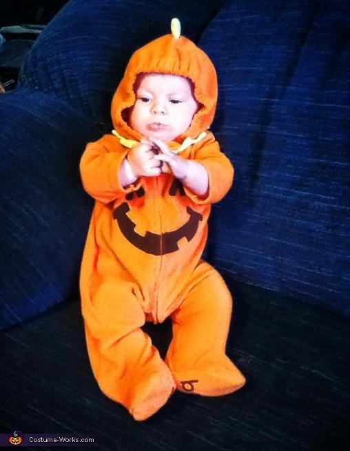 Cute Little Pumpkin Baby Costume
