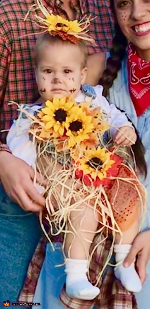 Cute Little Scarecrow Costume