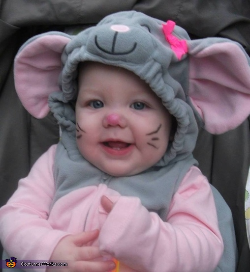 Cute Mouse Baby Costume
