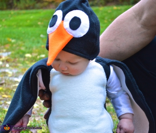 Cute Penguin Baby Costume