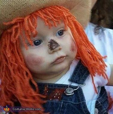 Jasmine the Precious Scarecrow, Cute Scarecrow Baby Costume