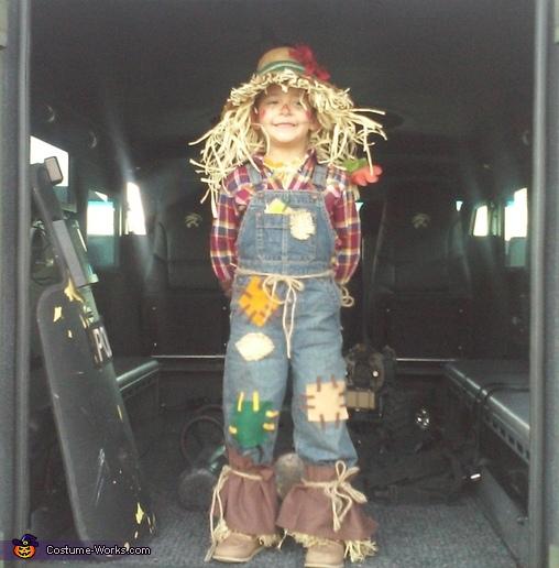 cute scarecrow#2, Cute Scarecrow Costume