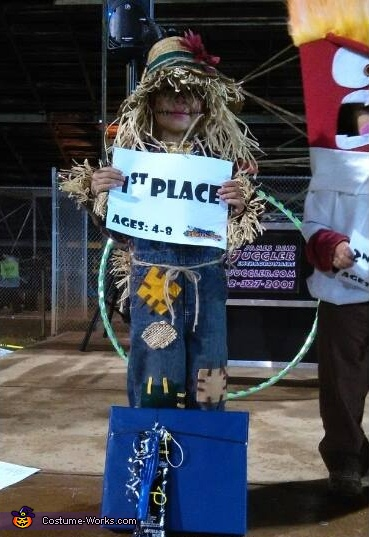 cute scarecrow#4, Cute Scarecrow Costume