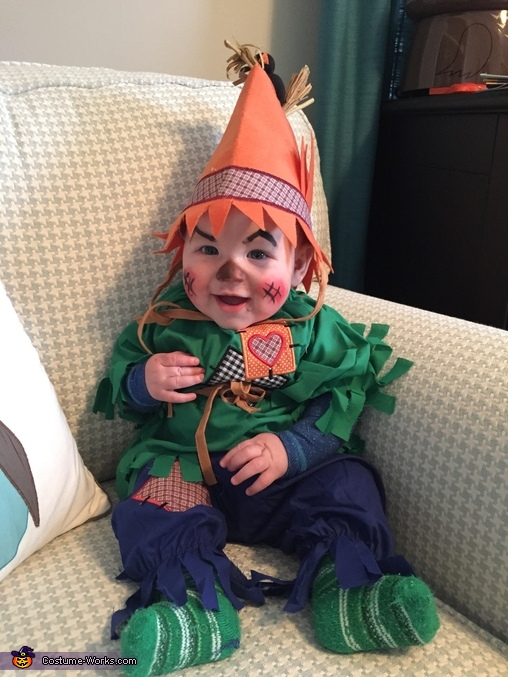 Cutest Scarecrow Baby Costume